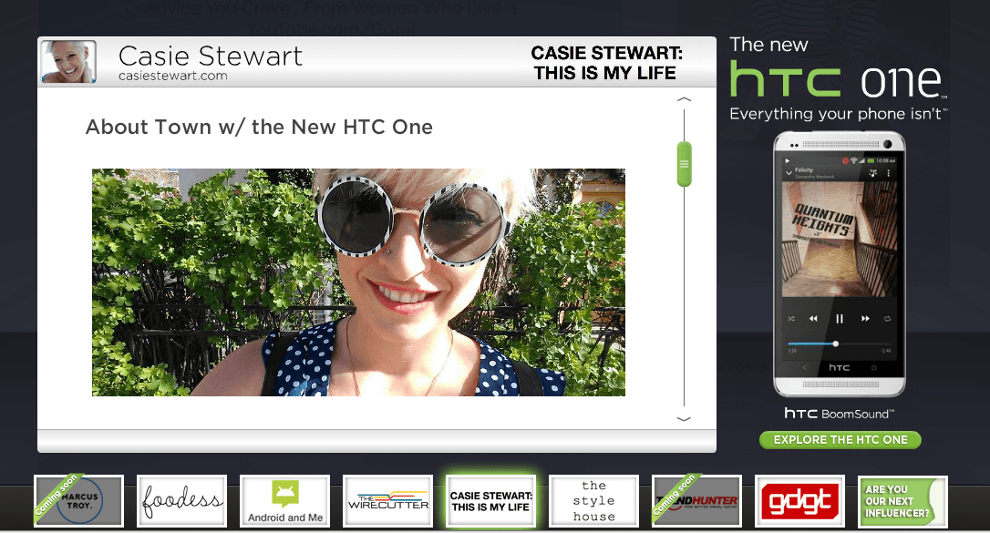 Are you the next #HTCone Influencer?