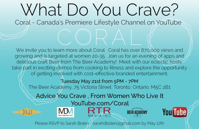 Coral - Canada's Premiere Lifestyle Channel on YouTube