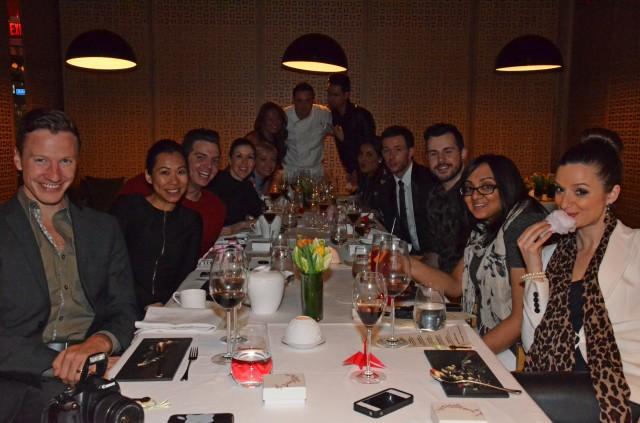 #iheartbosk Media Dinner at Shangri-La Toronto