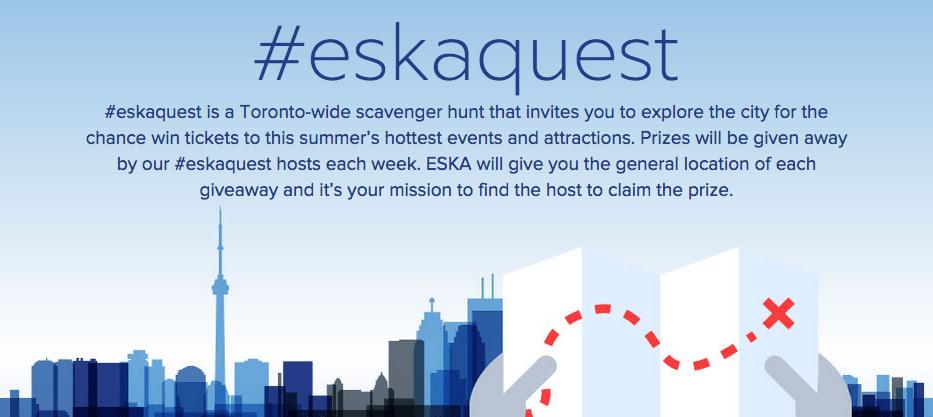 #Esakaquest 2015 – Find Eska, Win Prizes!