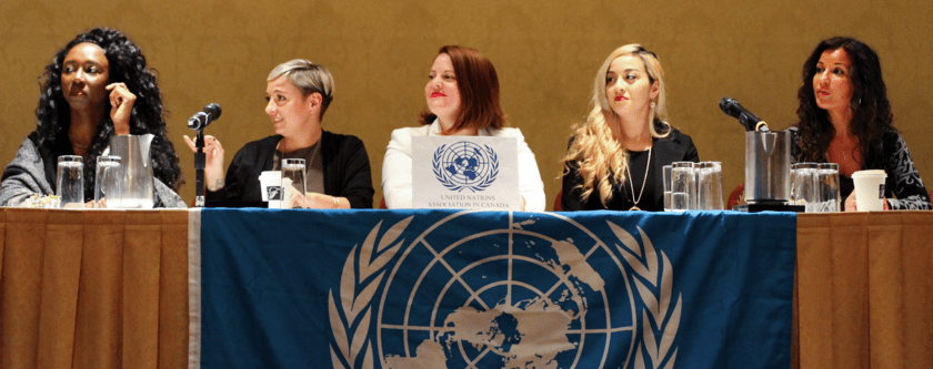 Speaking   United Nations IWD 2016 & Planet 50-50