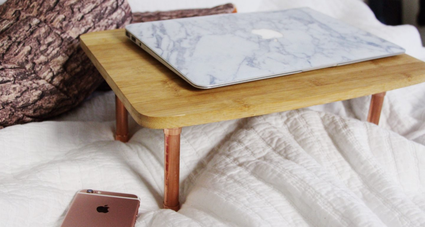 Made a Thing: Little Wooden Laptop Table