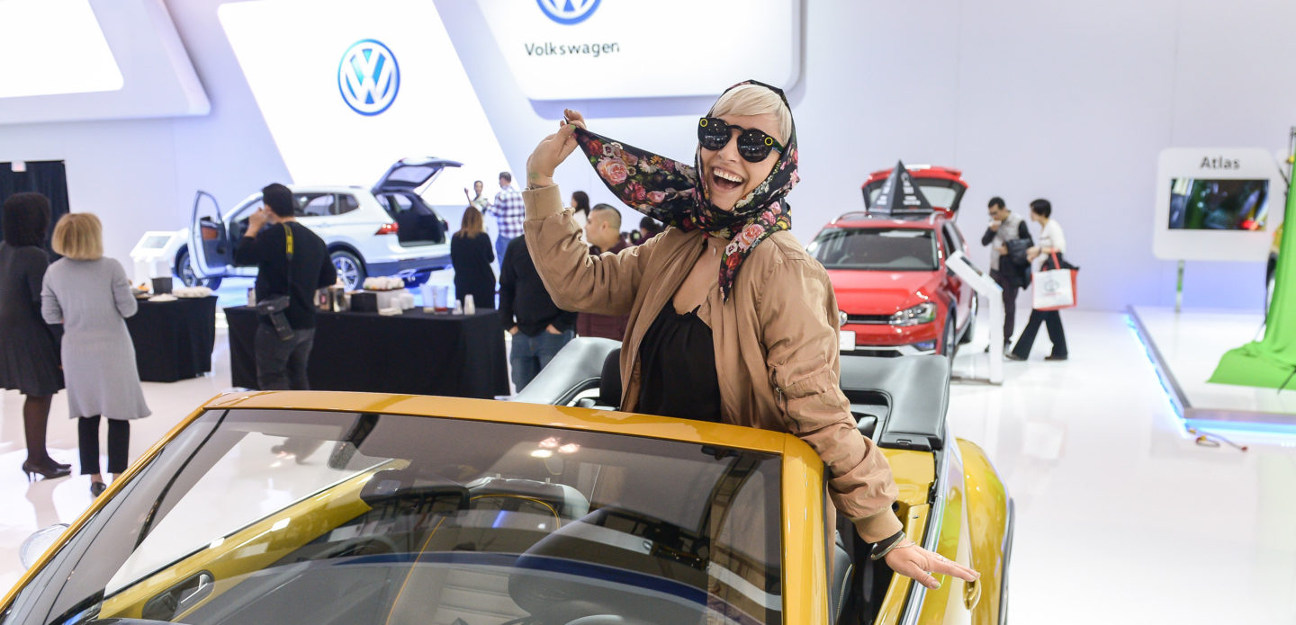 2017 Canadian International AutoShow w/ @VWCanada