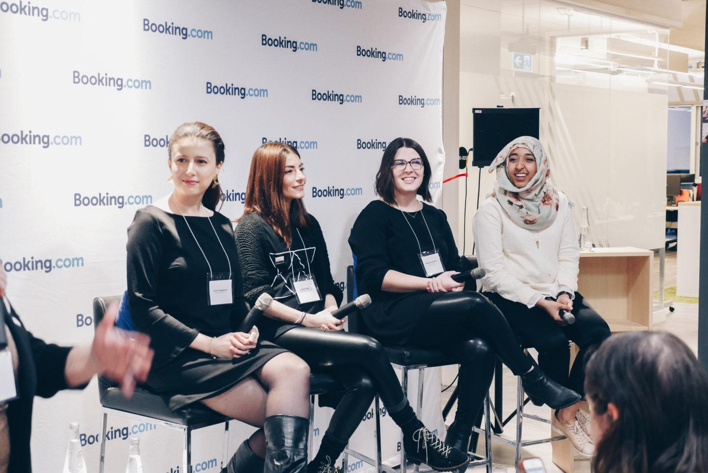 Encouraging Women in Tech w/ Ladies Learning Code + Booking.com