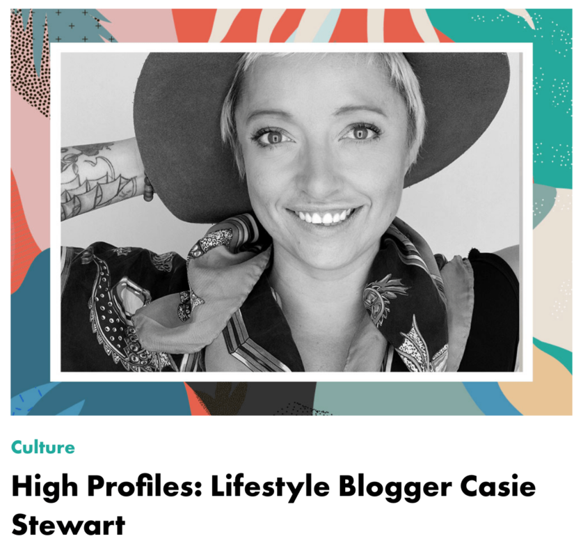 HIgh Profile with Casie Stewart by Lift & Co. on cannabis & the emerging industry.