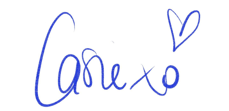 Casie Stewart, signature, iPad Pro.