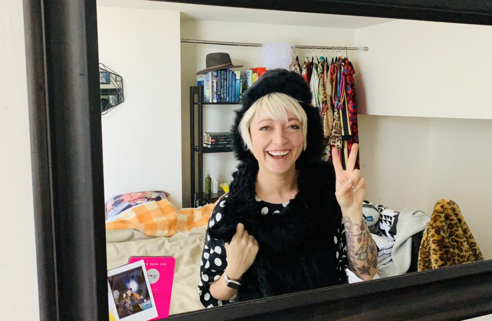 Casie Stewart at home in Toronto.