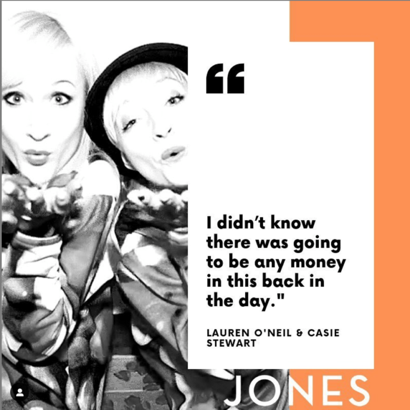 Casie Stewart & Lauren O'Nizzle on 'Keeping Up with the Joneses' Podcast with Jones Media.