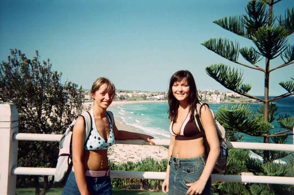 Casie Stewart at Bondi Beach