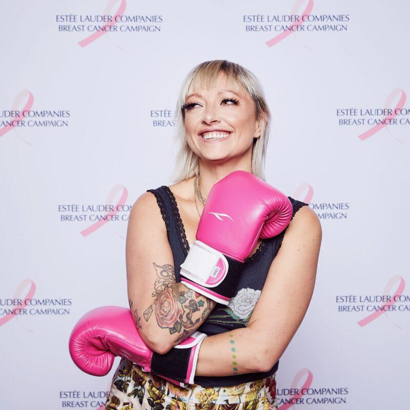 The 2019 Breast Cancer Campaign w/ Estee Lauder