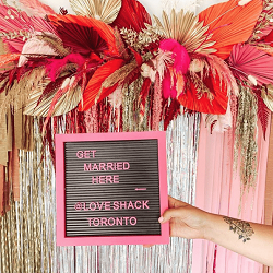 Get Hitched at Love Shack Toronto! 💖💍🎉