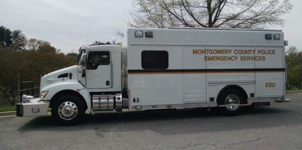 Hackney-Montgomery County, MD Command Unit