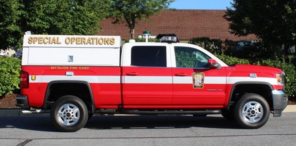 TechOps Battalion Fire Chief