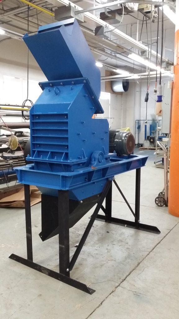 e-scrap impact mill