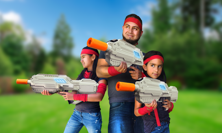 mobile laser tag birthday party