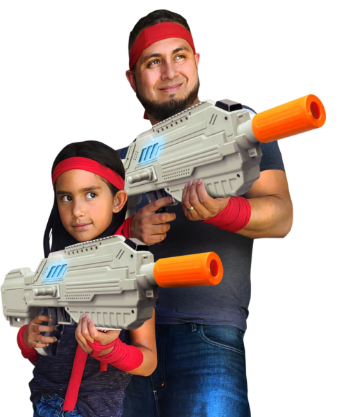 party dress up laser tag