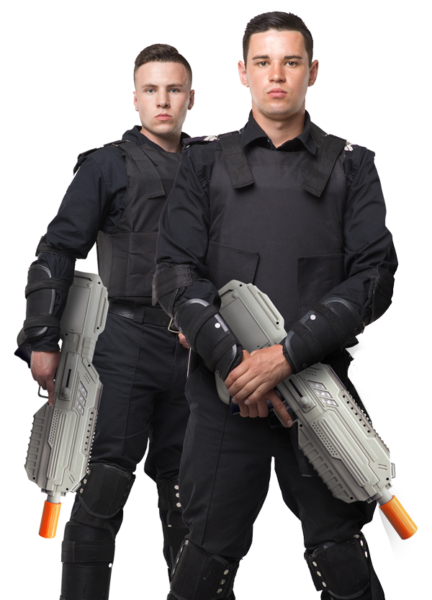 security-training-laser-tag-solution