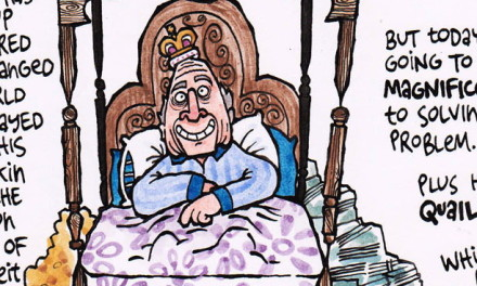 The Friday Cartoon: Sepp's Puzzle Page