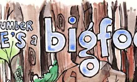 The Friday Cartoon: Our Number Nine's A Bigfoot