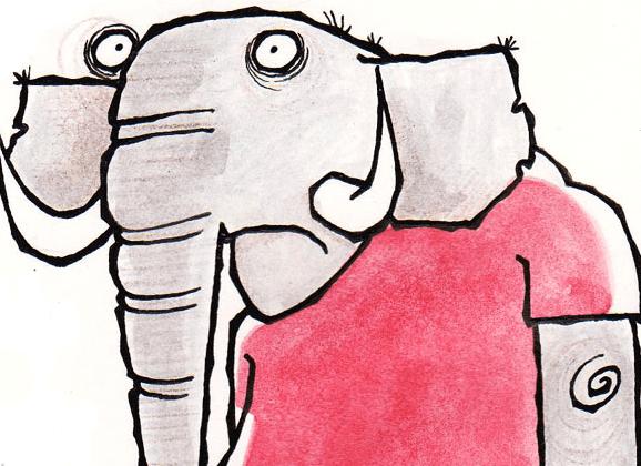 The Friday Cartoon: An Elephant In A Football Kit