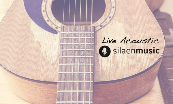 Silaen Music performing live acoustic cover songs for intimate Bali wedding