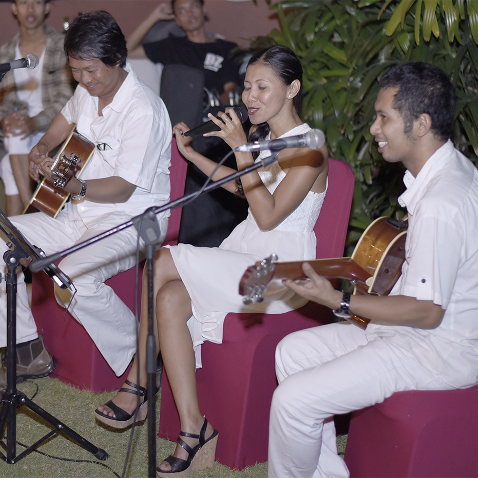 Bali Wedding Band, Live Music for Bali weddings and special events