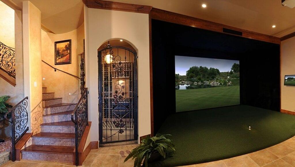 in home golf sim