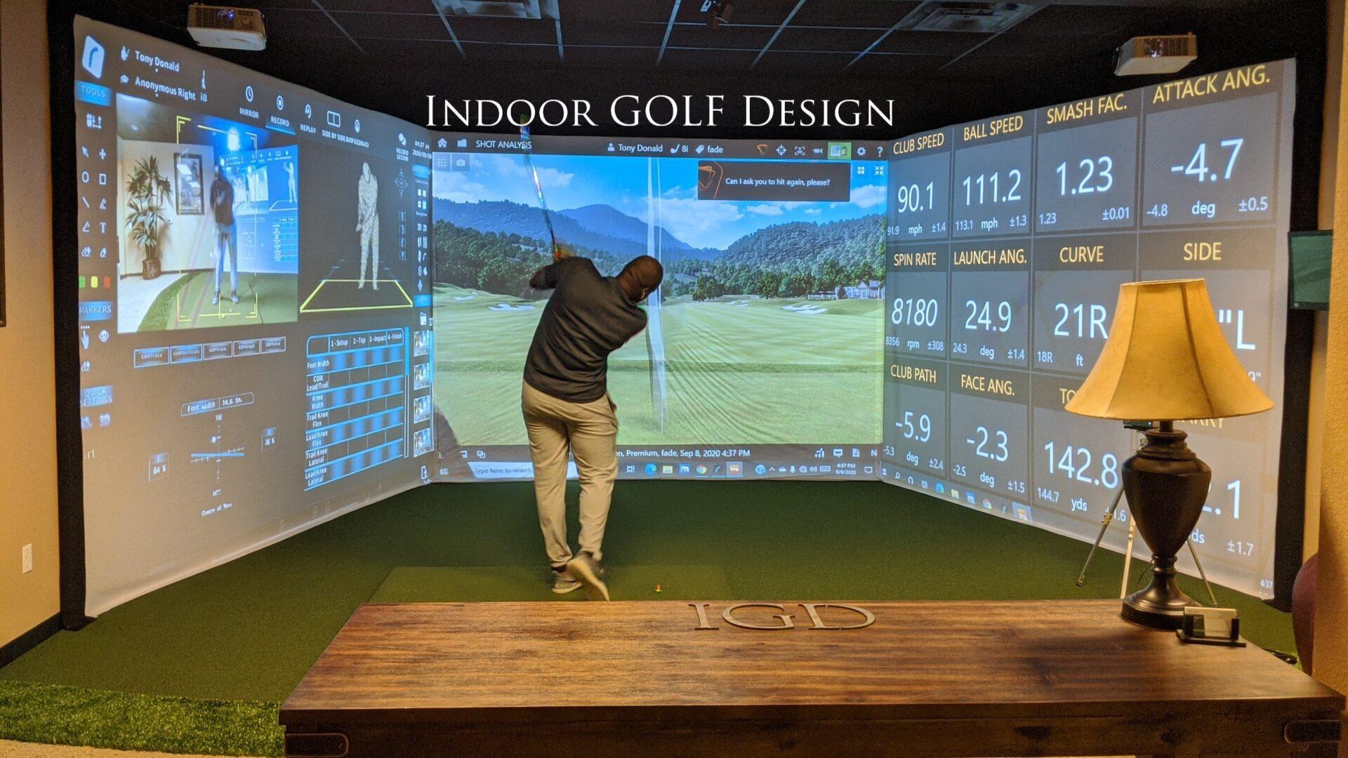 Indoor Golf Design Simulator