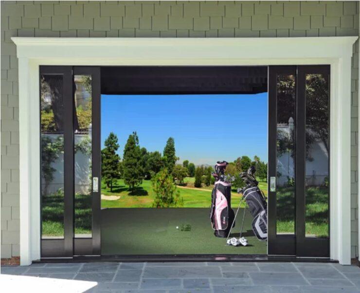 Custom In Home Golf Simulators
