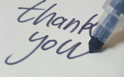 """THE UNDERAPPRECIATED ART OF SAYING """"THANK YOU"""""""