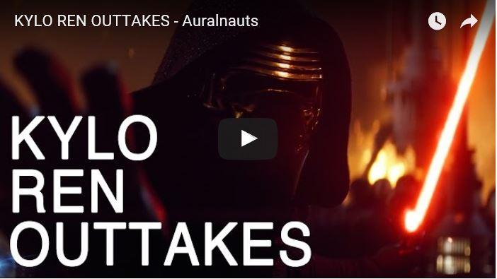 Kylo Ren Outtakes