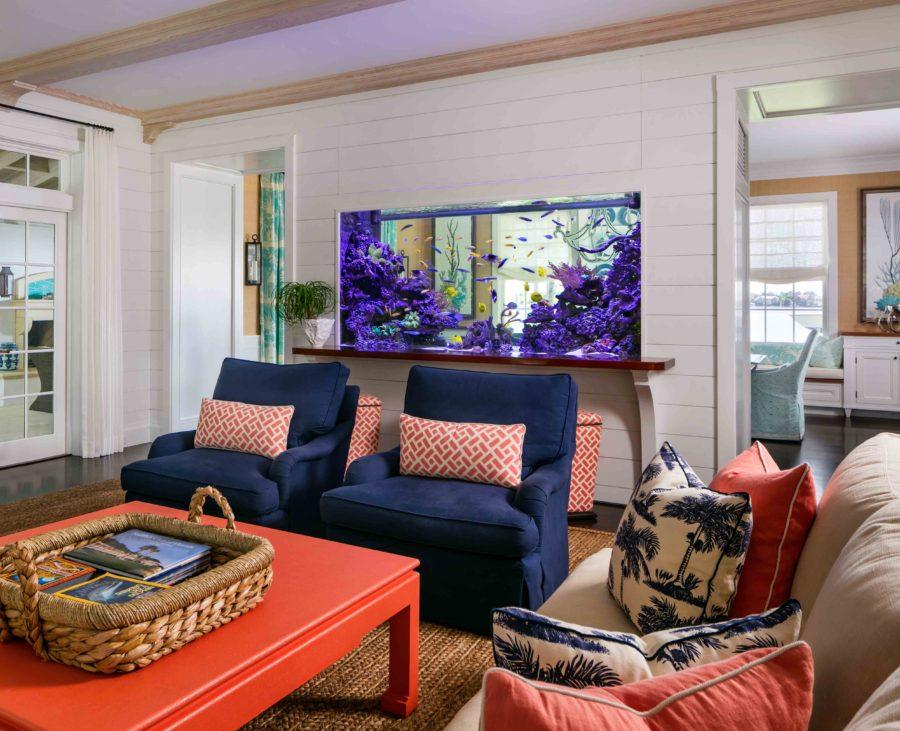 Custom Living Coral Reef Tank