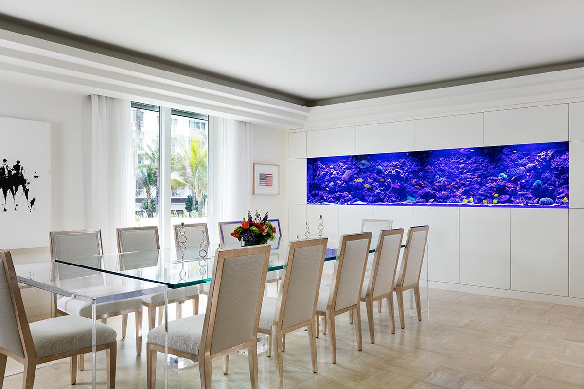 500 Gallon Living Reef Aquarium