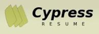 cypress-resume-logo