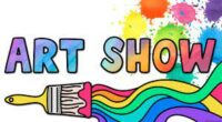 The First HKHS and Killingworth Library Student Art Show and Silent Auction: 5/24 – 6/05