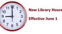 Increased Browsing Hours Effective June 1, 2021