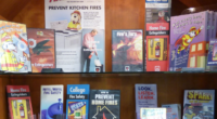 Killingworth Volunteer Fire Company's Fire Prevention Month Display
