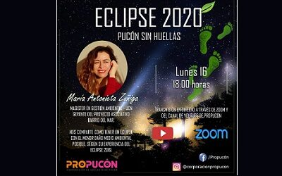 Pucón se prepara para recibir el eclipse total de sol del 14 de diciembre