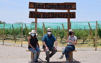 Vino del Desierto reabre sus puertas al turismo en Pampa del Tamarugal
