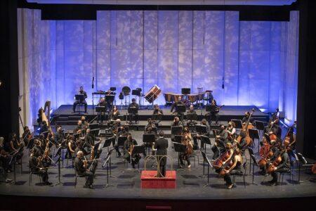 Orquesta Filarmónica de Santiago.