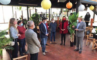 Empresas de Barrio del Mar conocen medidas para la reactivación turística