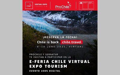 Chile Virtual Expo Tourism conectará oferta turística del país con el mundo