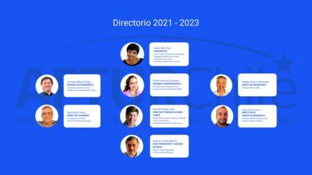Directorio de APTUR Chile para el periodo 2021-2023