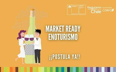 Hasta el lunes 17 estarán abiertas postulaciones para Market Ready Enoturismo