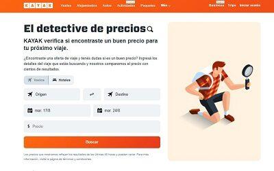 KAYAK lanza una nueva versión de la herramienta Detective de Precios