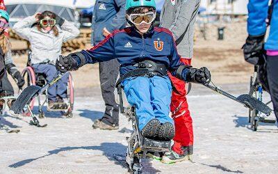 Abren escuela de esquí para personas en situación de discapacidad en Farellones