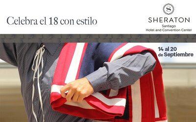 Fiestas Patrias: Hotel Sheraton Santiago invita a celebra el 18 con estilo