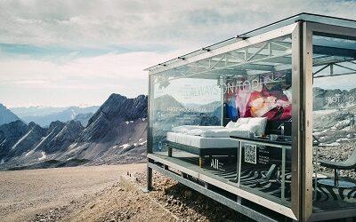 ALL – Accor Live Limitless instala habitación de cristal en las alturas