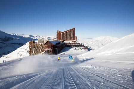 Centro de esquí Valle Nevado.