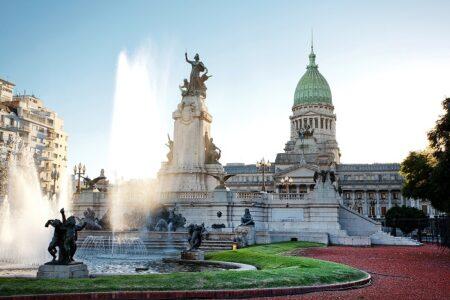 laza del Congreso, en Buenos Aires.